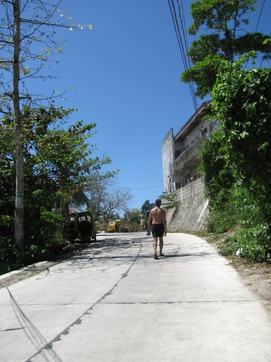 Trekking to Mt Luho
