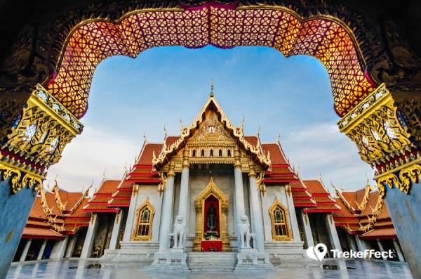 Thailand Temple Wat Benchamabophit, Bangkok, Thailand
