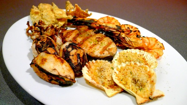 Mixed Seafood Platter at PHP660