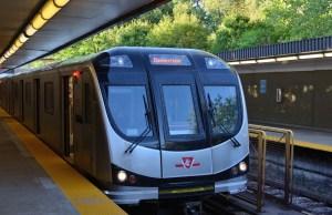 New Toronto Rocket Subway Train