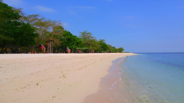 Pink Sand Beach in Zamboanga