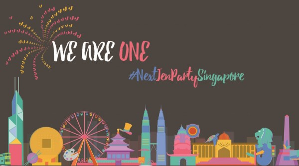 We are One Party with Hotel Jen Singapore