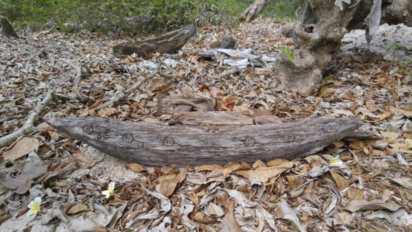 wooden boats with nice carvings by ancient Badjaos
