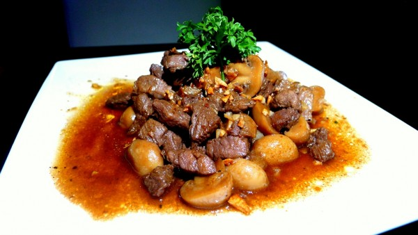 Beef Salpicao at PHP340
