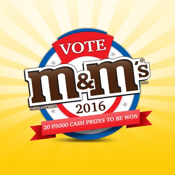 Joining Election Fever with M&M'S® Characters