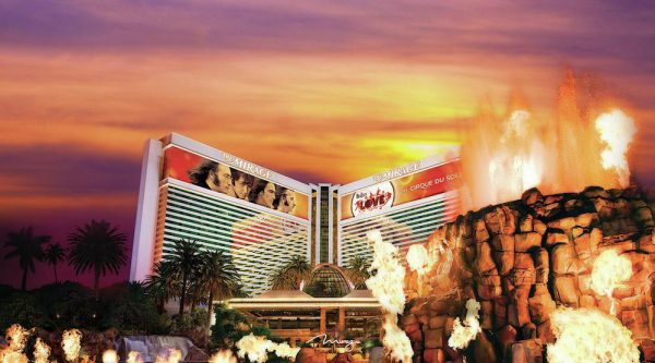 The Volcano at The Mirage Hotel