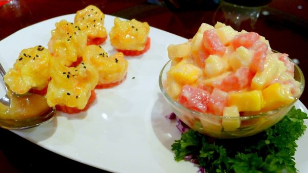 Prawn Salad with Fruits at PHP940