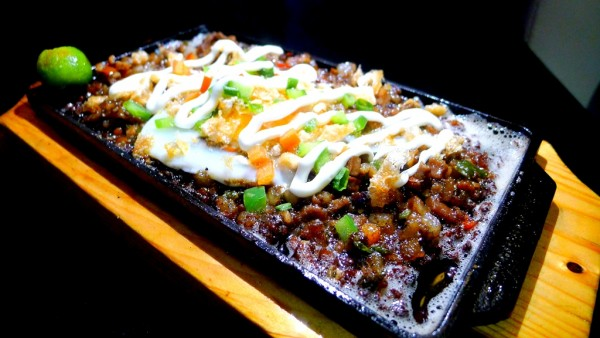 Sizzling Pork Sisig at PHP205