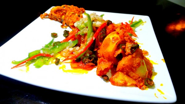 Spicy Yellow Squid at PHP455