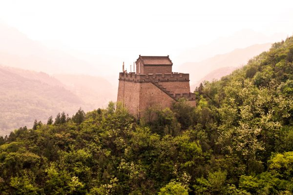 A section of the Great Wall near Beijing - By Chris Flook - Own work, CC BY-SA 3.0