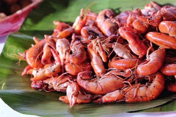 Local Freshwater Shrimps in Camotes