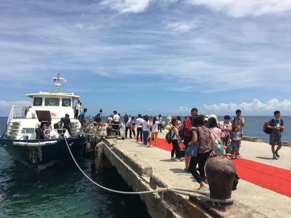 Red Carpet Arrival in Camotes Island