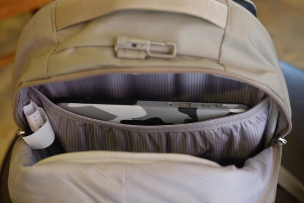 Safe and well padded Macbook Compartment