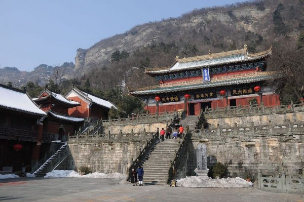 The Purple Cloud monastery at Wudang Mountains By gongfu_king - DSC_1933, CC BY-SA 2.0