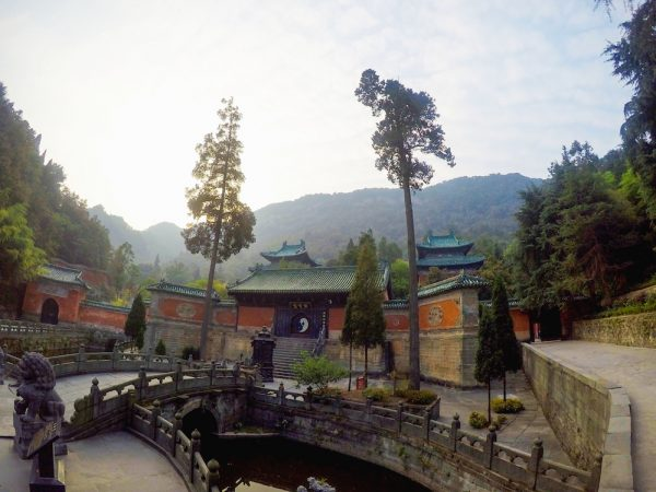 Wudang Mountains in China - entrance to the Purple Cloud Palace