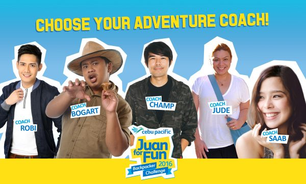 Cebu Pacific Juan for Fun Adventure Coaches
