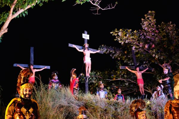 Crucifixion of Jesus reenactment