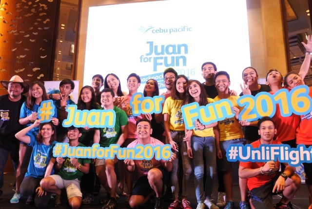 Juan for Fun Backpacker Challenge 2016 Participants