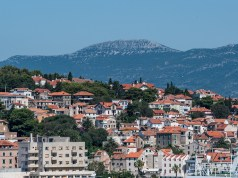 Landscape in Split Croatia