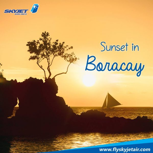 SkyJet flights to Boracay