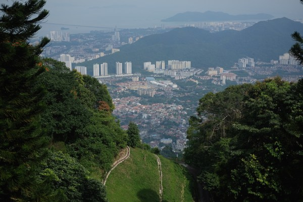 View from Penang Hill View Deck