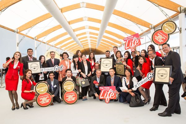 AirAsia Team at the 2016 Skytrax World Airline Awards