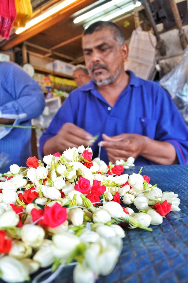 Flower Garland Maker in Penang