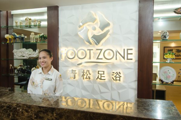 Foot Zone Spa Reception