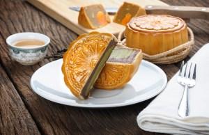 Mooncake Chinese Mid-autumn festival dessert