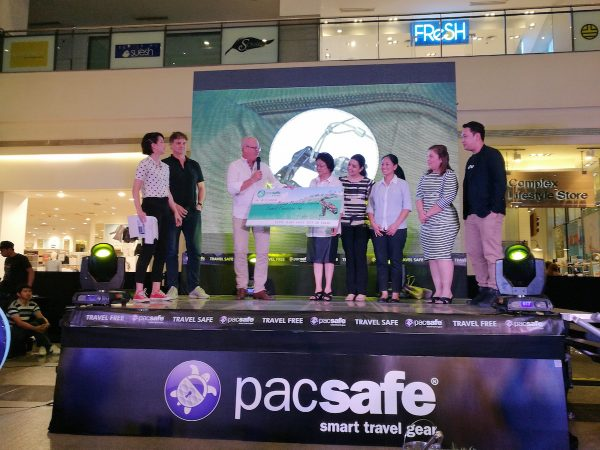 Pacsafe Donated money to Bataan Tourism Council for the Pawikan Conservation