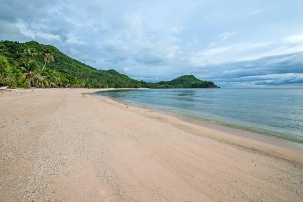 Binucot Beach and Island in Tablas