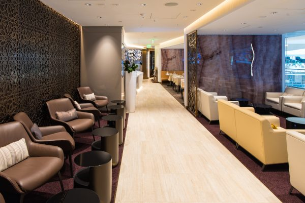 Etihad Business Class Lounge in LA