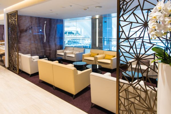 First and Business Class Lounge in Los Angeles International Airport
