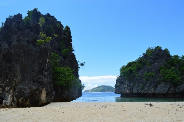 Lapus-Lapus Cove in Tablas Island