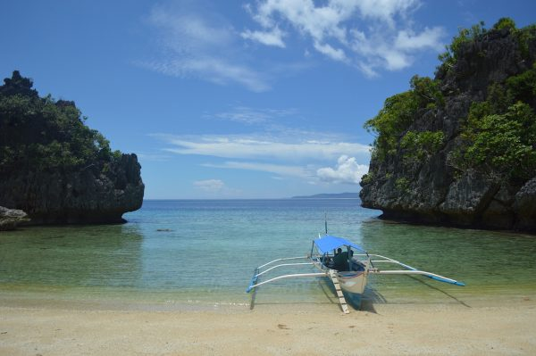 Lapus-Lapus Cove in Tablas Romblon