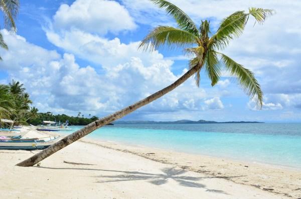 Poblacion Beach in Carabao Island