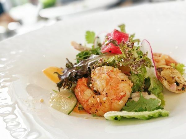 Flames Chilled Seafood Salad
