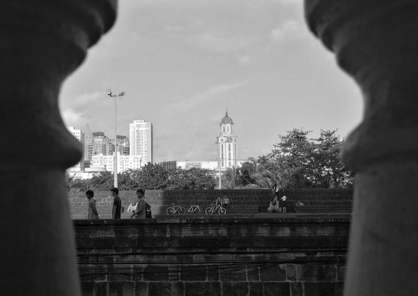 The Walled City of Manila using Huawei P9 Monochrome features