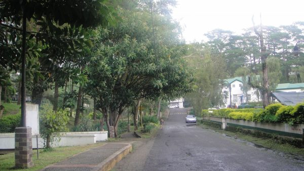 The main road inside Teachers' Camp