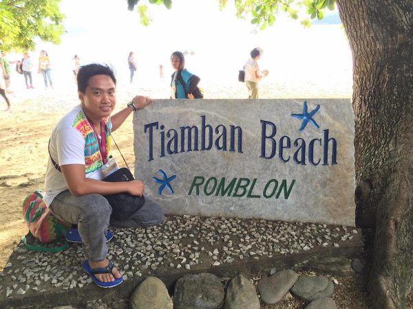 Tiamban beach sign – KC Perez