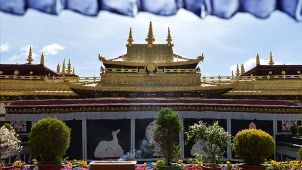 Jokhang Temple is the spiritual heart of Lhasa city.