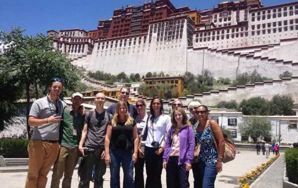 Getting ready to tour Potala Palace