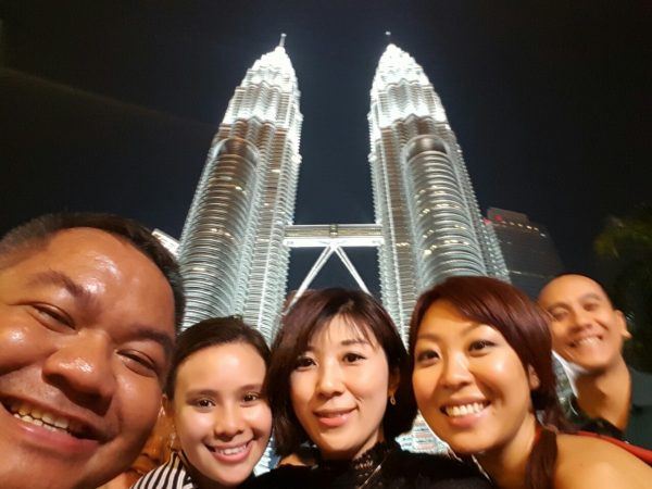 Group Shot at Petronas Twin Towers