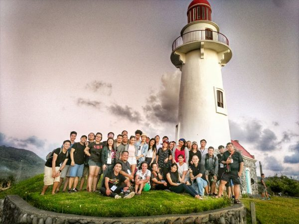 Participants in Basco Lighthouse photo by Anvey Factora