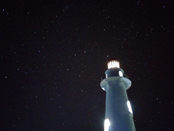 Basco Lighthouse at Night