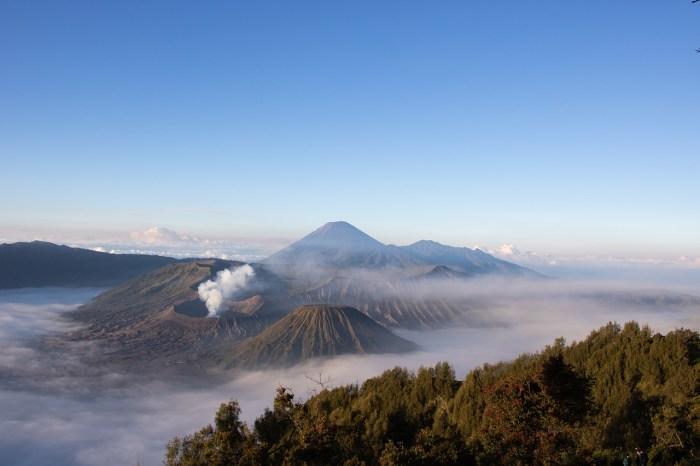 Mount Bromo in Indonesia
