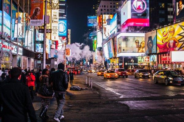 New York at Night by Nicolai Berntsen via Unsplash