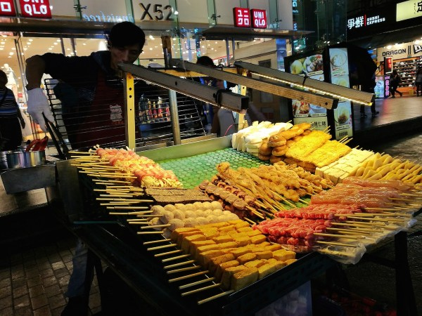 Streetfood in Taipei.