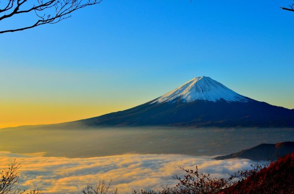 Sunrise in Mt Fuji
