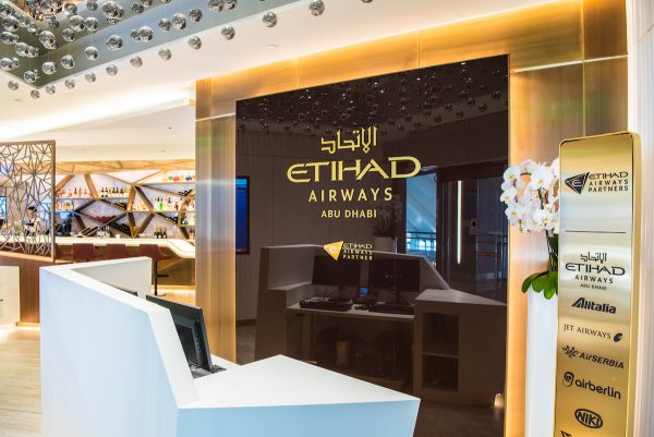 Etihad Airways' First and Business Class Lounge at Los Angeles International Airport (LAX)